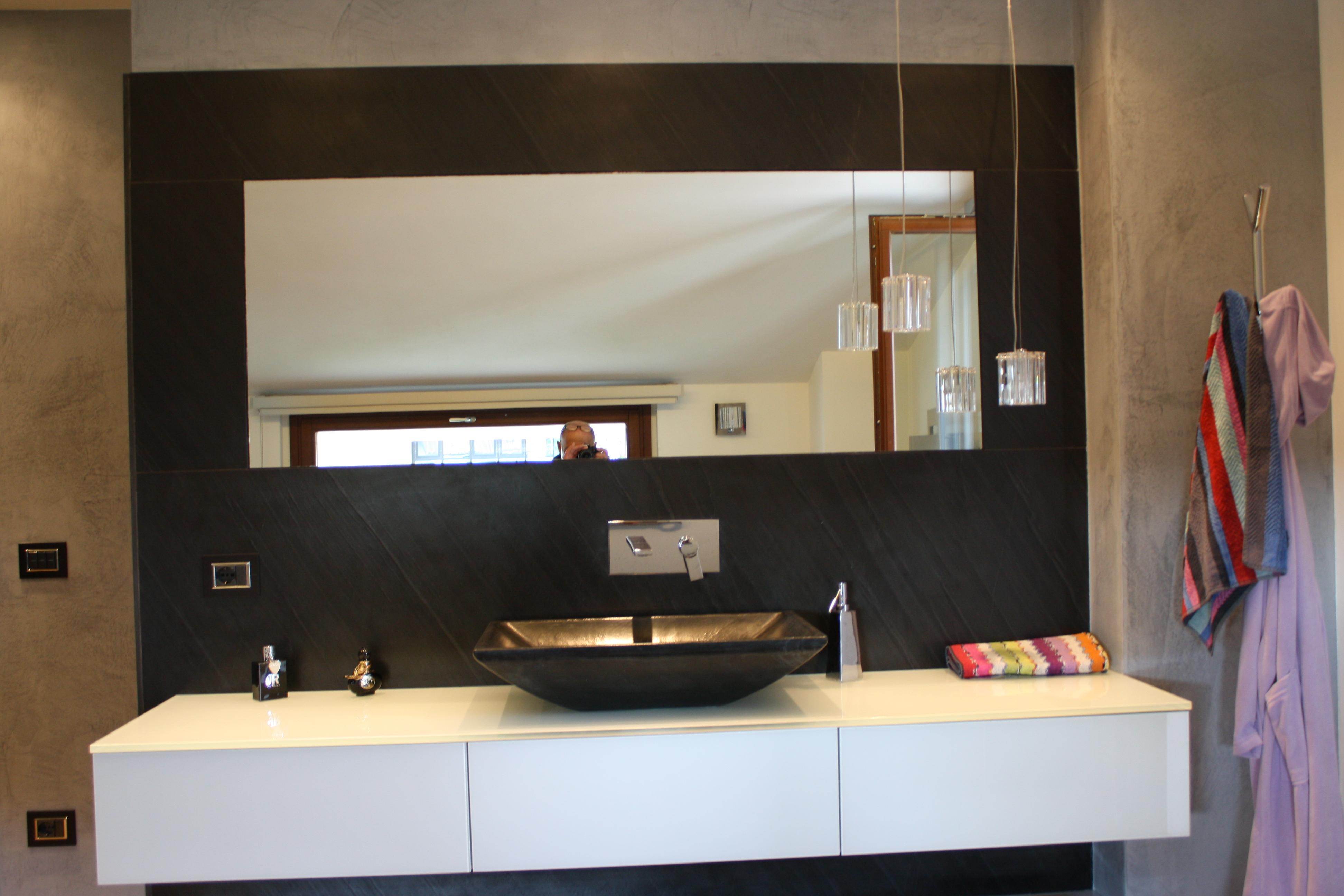 portfolio - bagni in marmo e pietra su misura | valtiberina marmi - Bagni In Pietra Moderni